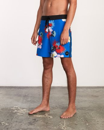 2 Higgins Trunk - Boardshorts for Men Blue P1BSRCRVS9 RVCA