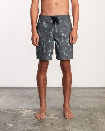 1 Kristen Liu Wong Palms Trunk - Boardshorts for Men  P1BSRDRVS9 RVCA