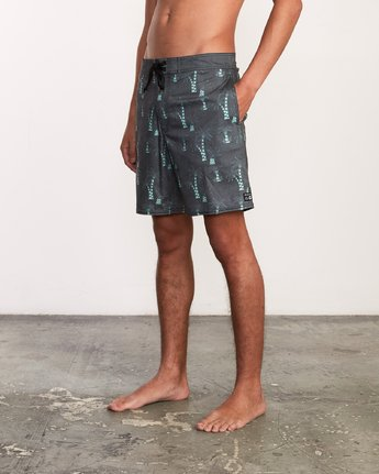 2 Kristen Liu Wong Palms Trunk - Boardshorts for Men  P1BSRDRVS9 RVCA