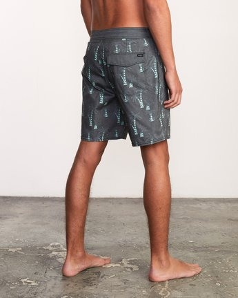 4 Kristen Liu Wong Palms Trunk - Boardshorts for Men  P1BSRDRVS9 RVCA