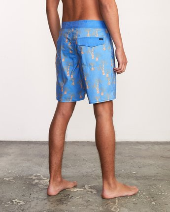 5 Kristen Liu Wong Palms Trunk - Boardshorts for Men Blue P1BSRDRVS9 RVCA