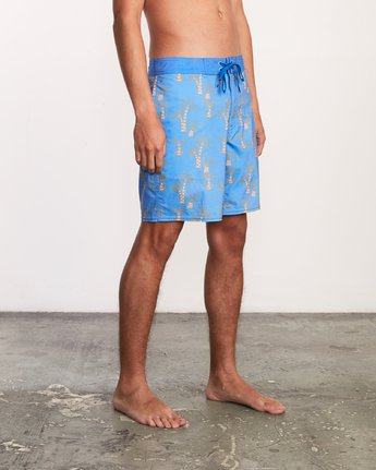 6 Kristen Liu Wong Palms Trunk - Boardshorts for Men Blue P1BSRDRVS9 RVCA