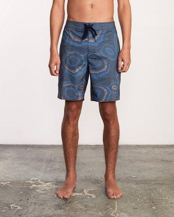 1 Trent Whitehead Flicker Trunk - Boardshorts for Men Blue P1BSRFRVS9 RVCA