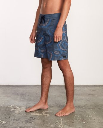 2 Trent Whitehead Flicker Trunk - Boardshorts for Men Blue P1BSRFRVS9 RVCA