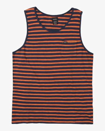 Vincent Stripe - Tank Top for Men  P1KTRDRVS9
