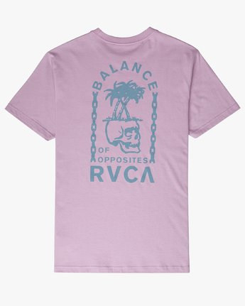 1 Bad Palms - T-Shirt for Men Purple P1SSRDRVS9 RVCA