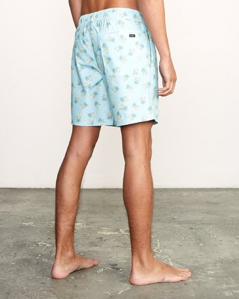 "5 Kristen Liu Wong Program Elastic Short - 17"" Boardshorts for Men  P1VORDRVS9 RVCA"