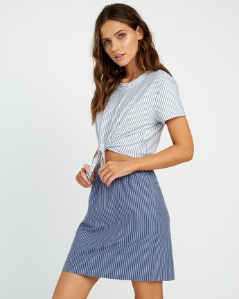 2 Fade Out Striped - Dress for Women  P3DRRBRVS9 RVCA