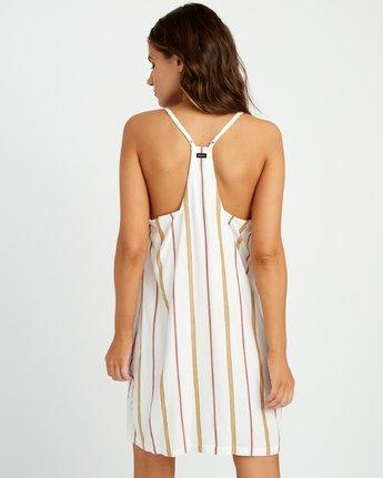 2 Fluke Stripe - Dress for Women White P3DRRKRVS9 RVCA