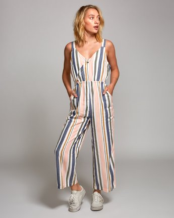 Ursan - Striped Jumpsuit for Women  P3ONRJRVS9