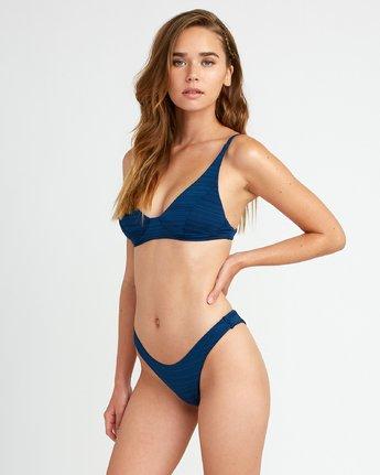 1 Rowan Skimpy Bikini Bottoms Blue P3SBRPRVS9 RVCA