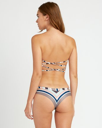 1 Off Shore Cheeky Bikini Bottoms White P3SBRQRVS9 RVCA