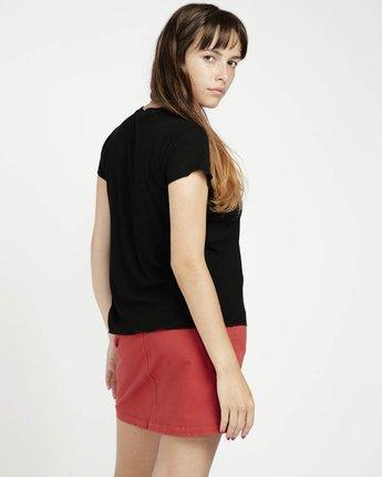 1 Trent Whitehead Crying Heart - Short Sleeves T-Shirt for Women Black P3SSRCRVS9 RVCA