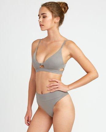 1 Solid  - Bralette Bikini da Donna Brown P3STRERVS9 RVCA