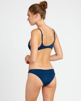 2 Rowan Bralette Bikini Top Blue P3STRURVS9 RVCA