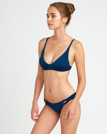 1 Rowan Bralette Bikini Top Blue P3STRURVS9 RVCA
