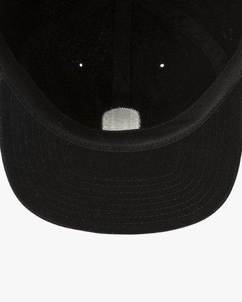 2 Tombstone Strapback Cap Black P5CPRHRVS9 RVCA