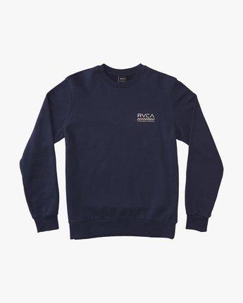 1 Check Mate Crew  - Sweatshirt  Q1CRRGRVF9 RVCA
