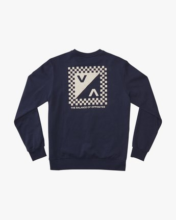Check Mate Crew  - Sweatshirt  Q1CRRGRVF9