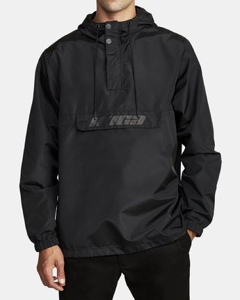 2 Killer - Anorak Jacket for Men Black Q1JKRBRVF9 RVCA