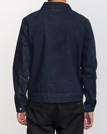 4 Hi - rade - Jeans-Jacke für Männer Blau Q1JKRFRVF9 RVCA