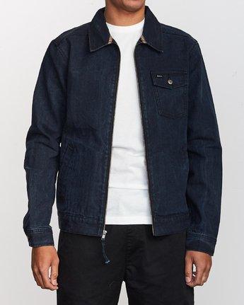 1 Hi - rade - Jeans-Jacke für Männer Blau Q1JKRFRVF9 RVCA