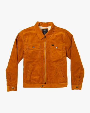 Easy Trucker  - Corduroy Sherpa Jacket  Q1JKRJRVF9