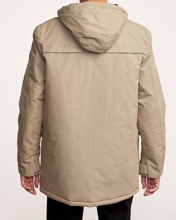 4 Patrol  - Parka-Jacke für Männer Grün Q1JKRLRVF9 RVCA