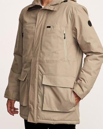 5 Patrol  - Parka-Jacke für Männer Grün Q1JKRLRVF9 RVCA