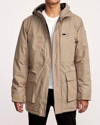 1 Patrol  - Parka-Jacke für Männer Grün Q1JKRLRVF9 RVCA