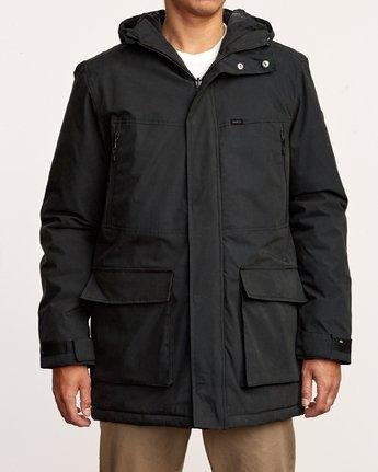 2 Patrol  - Parka Jacket Black Q1JKRLRVF9 RVCA