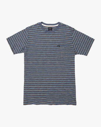 Foz Stripe Crew  - Short Sleeve Knit T-Shirt  Q1KTRCRVF9