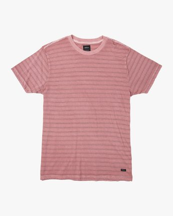 Curren Caples Saturation Stripe  - Short Sleeve Knit T-Shirt  Q1KTRHRVF9