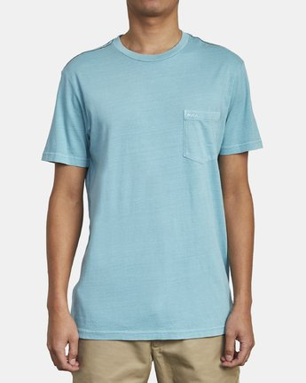 1 Ptc 2 Pigment - Pocket T-Shirt for Men  Q1KTRORVF9 RVCA