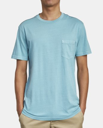 2 Ptc 2 Pigment - Pocket T-Shirt for Men  Q1KTRORVF9 RVCA
