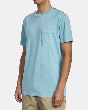 3 Ptc 2 Pigment - Pocket T-Shirt for Men  Q1KTRORVF9 RVCA