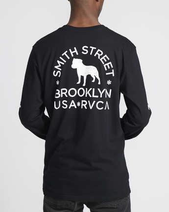 5 Smith Street Wicks  - Long Sleeve T-Shirt for Men Black Q1LSRCRVF9 RVCA