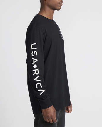 4 Smith Street Wicks  - Long Sleeve T-Shirt  Q1LSRCRVF9 RVCA
