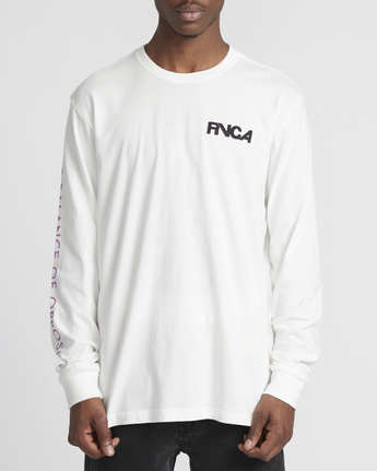 5 Roberto Rodriguez Redondo Screaming Bat  - Long Sleeve T-Shirt White Q1LSRDRVF9 RVCA