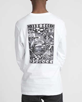 5 Martin Ander Mander  - Long Sleeve T-Shirt for Men White Q1LSRERVF9 RVCA
