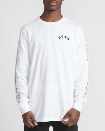 2 Benjamin Jeanjean JJ Mix  - Long Sleeve T-Shirt White Q1LSRFRVF9 RVCA