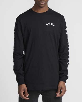 2 Benjamin Jeanjean JJ Mix  - Long Sleeve T-Shirt for Men Black Q1LSRFRVF9 RVCA
