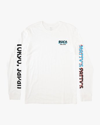 1 Matty's Patty's Tokyo - Long Sleeve T-Shirt for Men  Q1LSTDRVF9 RVCA