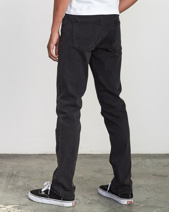 2 Hexed Denim - Jeans in Denim con Vestibilità Slim da Uomo Black Q1PNRCRVF9 RVCA
