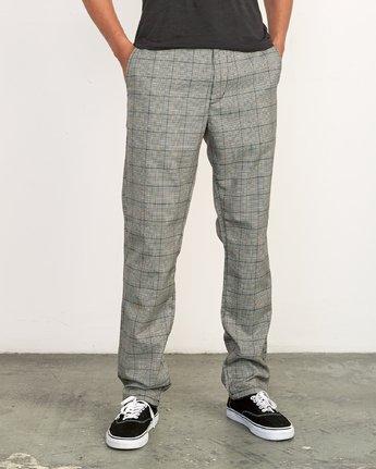 1 Daggers Jax  - Slim-Straight Trousers  Q1PTRDRVF9 RVCA