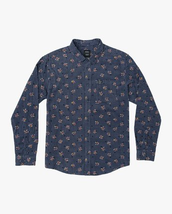 Post Wave Corduroy  - Long Sleeve Shirt  Q1SHRDRVF9