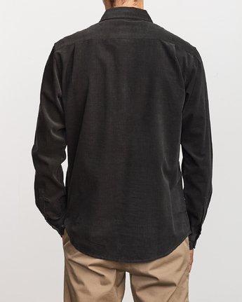 4 Freeman Corduroy  - Long Sleeve Shirt  Q1SHRMRVF9 RVCA
