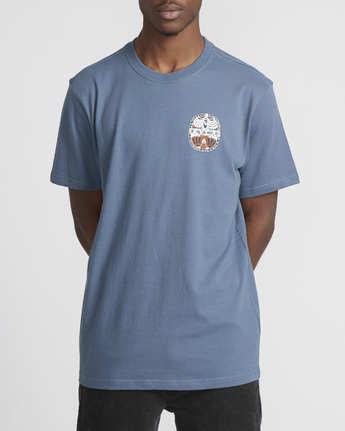 4 Martin Ander Opposites  - Short Sleeve T-Shirt for Men Blue Q1SSRHRVF9 RVCA