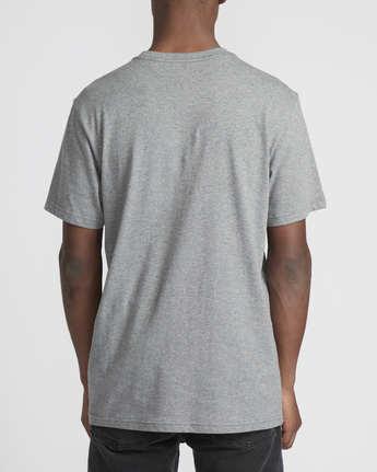 2 Logo Pack  - Short Sleeve T-Shirt Grey Q1SSRLRVF9 RVCA