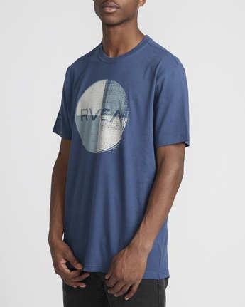 2 Logo Pack  - Short Sleeve T-Shirt Blue Q1SSRLRVF9 RVCA